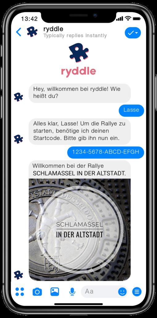 Stadtrallye Düsseldorf - Vorschau der Smartphone Schnitzeljagd