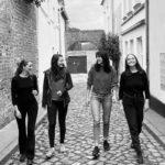 Die Autorinnen: Tahnee, Laura, Maria und Kathi von der Kreativwerkstadt
