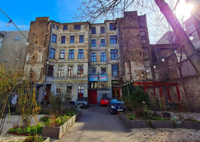 Stadtrallye Berlin - Clärchens Ballhaus