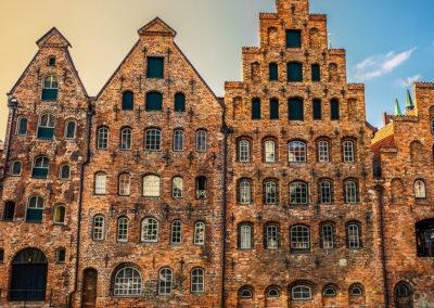 Stadtrallye Lübeck - Häuserfassade