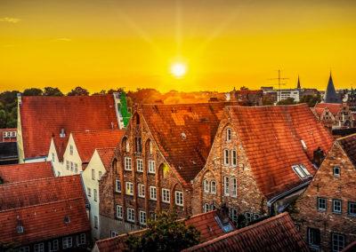 Stadtrallye Lübeck - Dächer