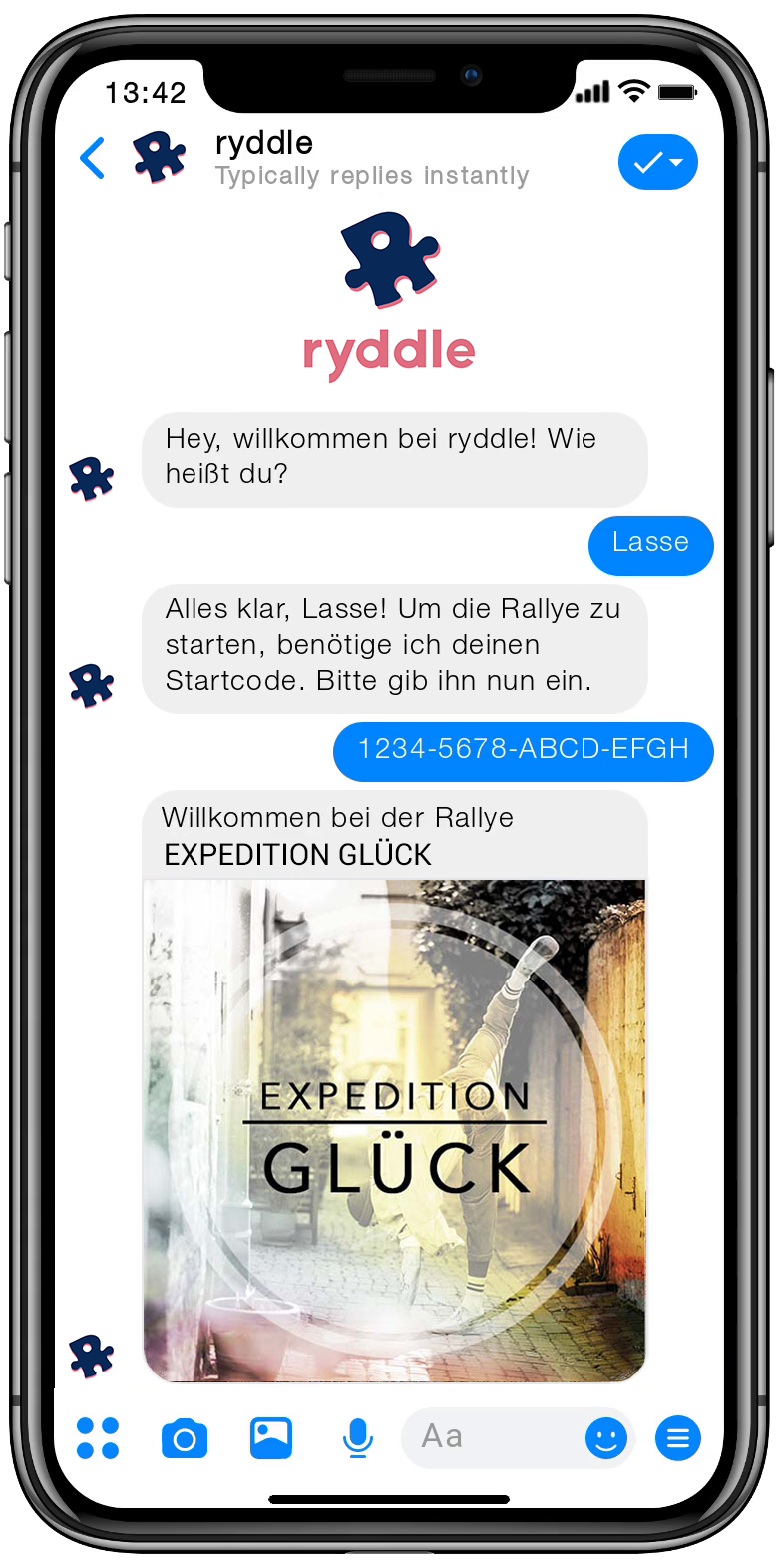 Stadtrallye Lübeck - Vorschau der Smartphone Schnitzeljagd