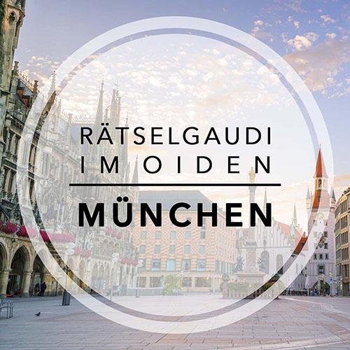Stadtrallye München - Rätselgaudi im oiden München