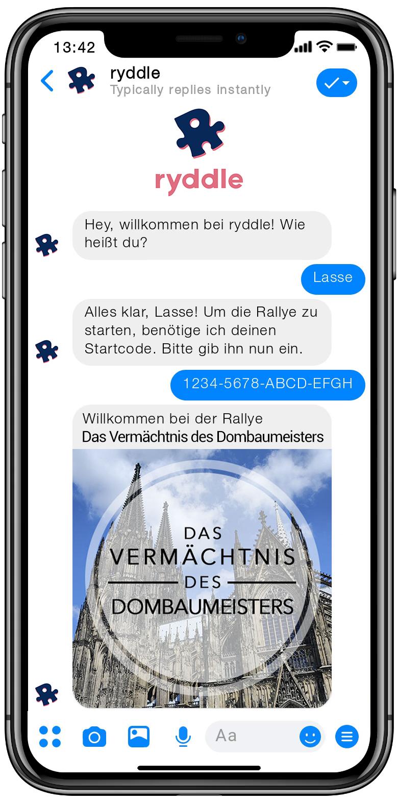 Stadtrallye Köln - Vorschau der Smartphone Schnitzeljagd