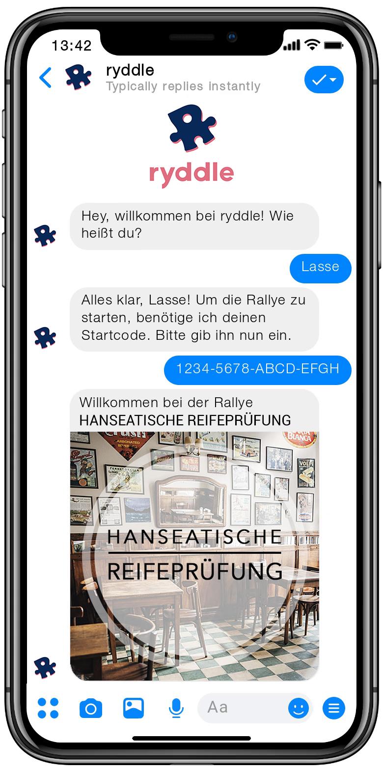 Stadtrallye Rostock - Vorschau der Smartphone Schnitzeljagd