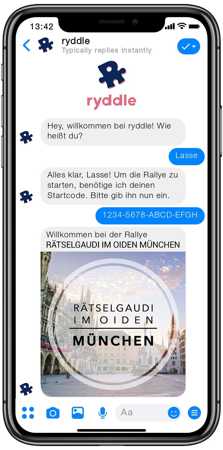 Stadtrallye München - Vorschau der Smartphone Schnitzeljagd