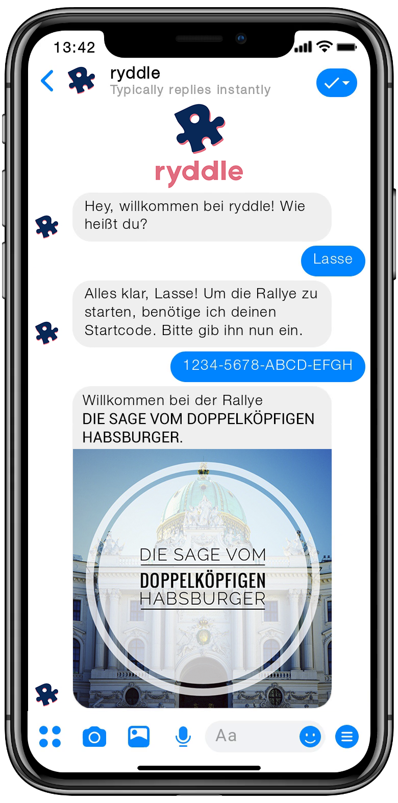 Stadtrallye Wien - Vorschau der Smartphone Schnitzeljagd